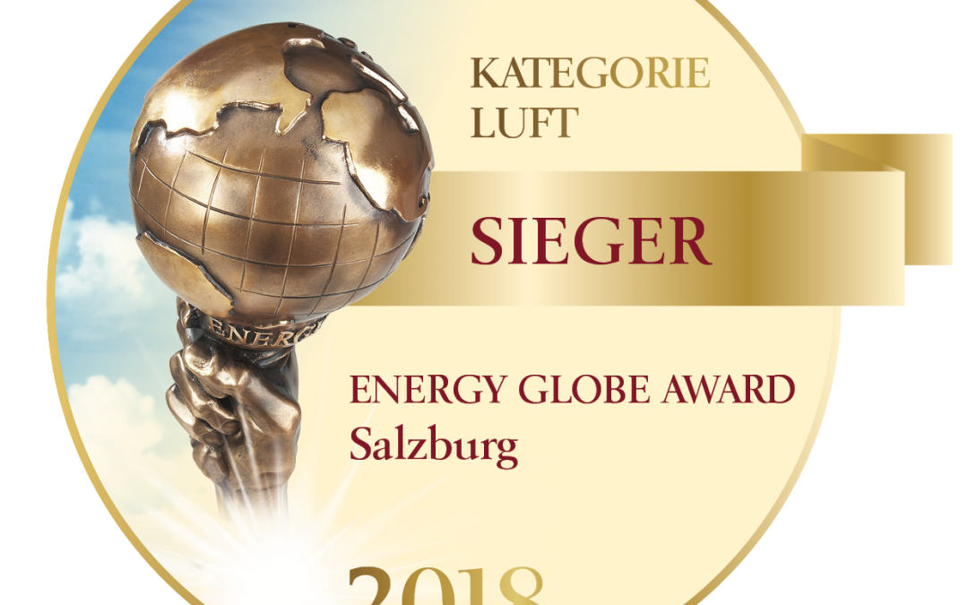 Energy Globe Award Sieger 2018!!!