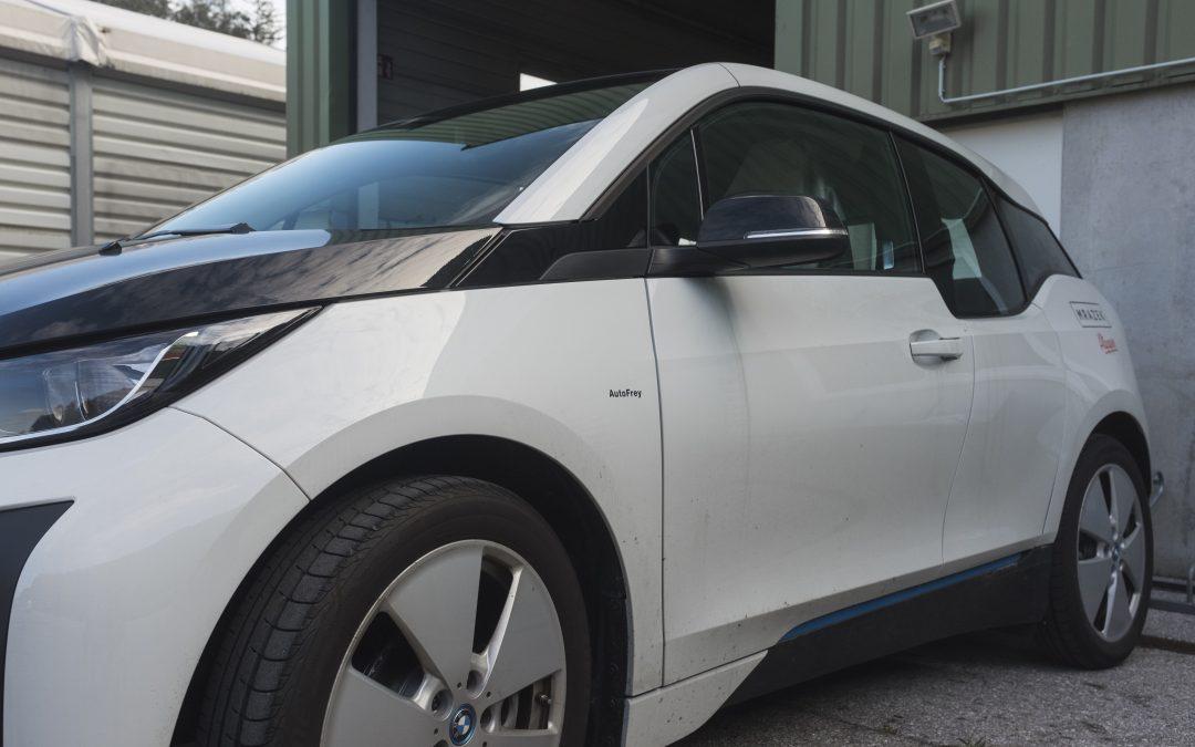 neues Elektrofahrzeug – der i3
