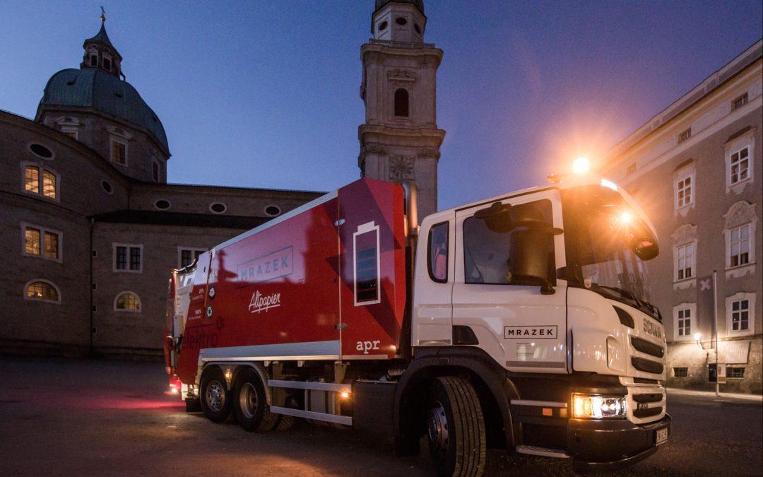 Der erste Plug-In-Hybrid in der Stadt Salzburg